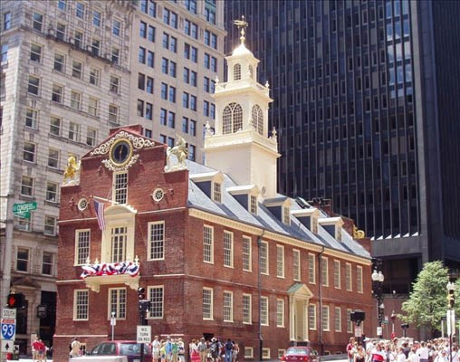 Old State House in Boston, Mass.