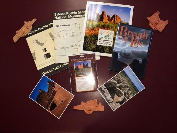 Salinas Pueblo Missions Trail Guides and Postcards