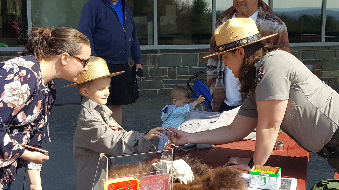 Junior Ranger Day Saratoga NHP