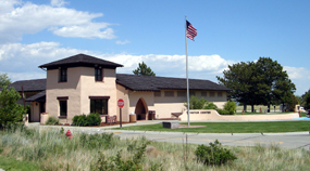 The Scotts Bluff National Monument Visitor Center and Oregon Trail Museum