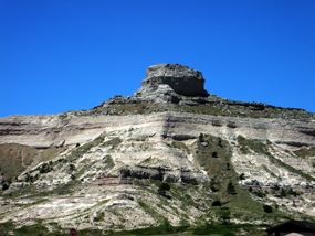 View of Sentinel Rock from the north