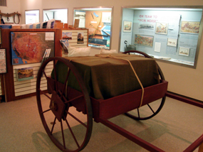 Inside the Scotts Bluff National Monument Visitor Center