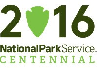 The logo for the NPS centennial