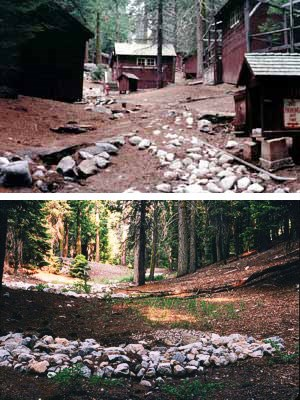 This series demonstrates how the Lower Kaweah rental cabin area is being restored.