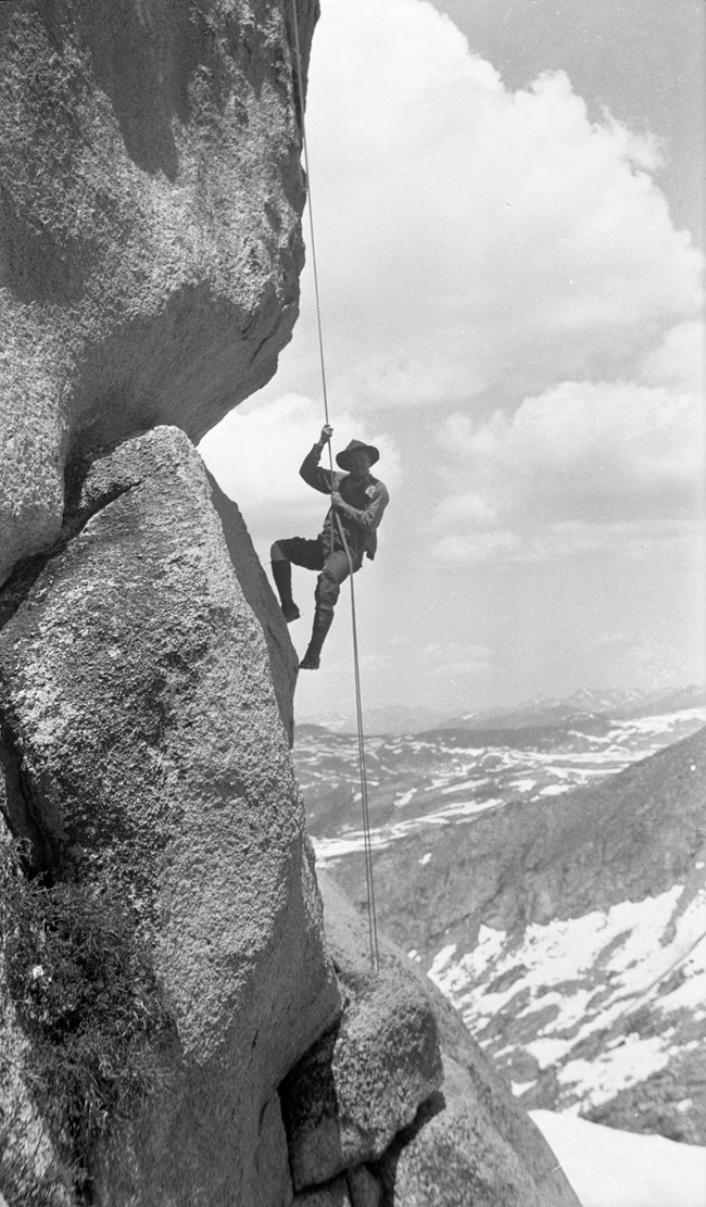 Norman Clyde Rock Climb.