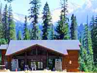 The new Wuksachi Lodge sits among towering pines and firs with a backdrop of the snow-crested High Sierra.
