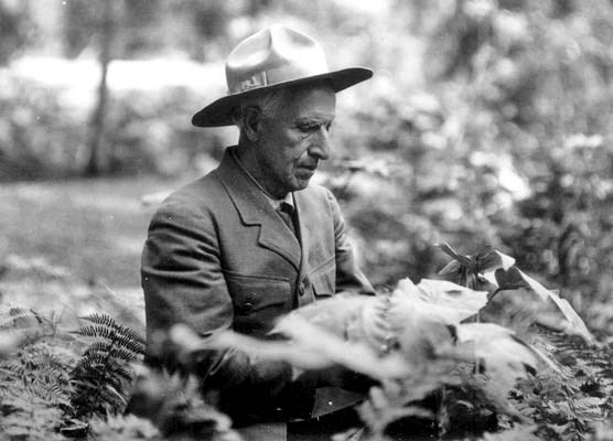 Walter Fry, the parks' first naturalist