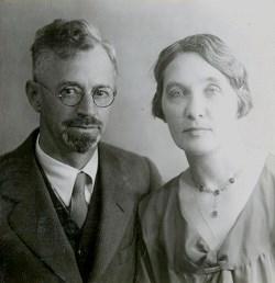 Susan Thew and husband Harold E. Parks