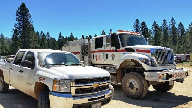 E51 at Trailhead Fire