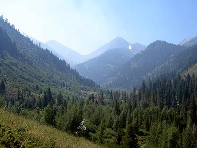 Mineral King Valley in Sequoia National Park