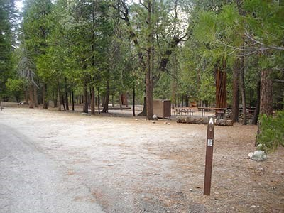 A group site at Canyon View Campground