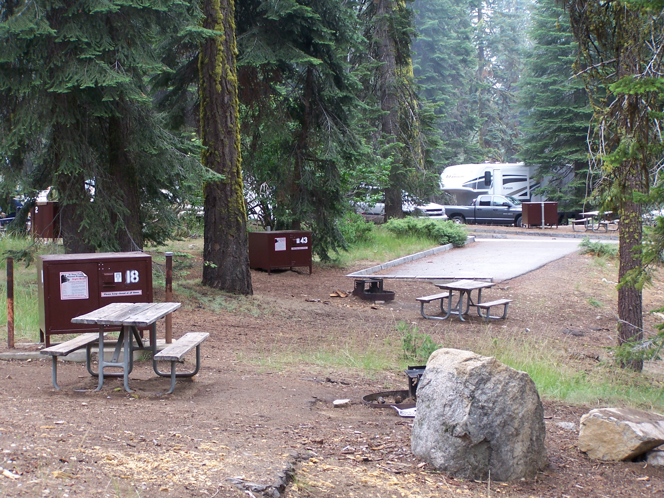 Dorst Creek Campground - Sequoia & Kings Canyon National