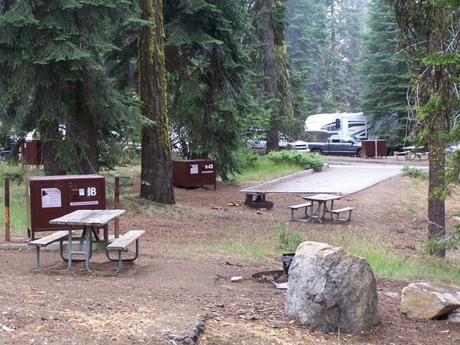 Dorst Campground, Sequoia National Park