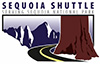 A graphic logo for the Sequoia Shuttle