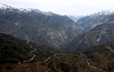 Highway 180 to Kings Canyon