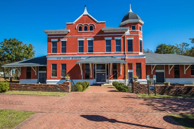 Old Depot Museum located in Selma
