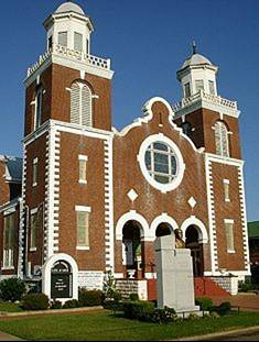 Brown Chapel AME Church Selms, Alabama.