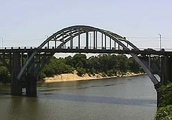 The Edmund Pettus Bridge Selma, Alabama