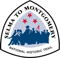 The Official Logo of the Selma to Montgomery National Historic Trail.