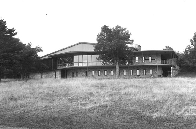 Historic image of Harry F. Byrd Visitor Center
