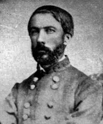 Confederate General Daniel Harvey (D