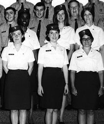 National Park Service Women's uniforms of the past.