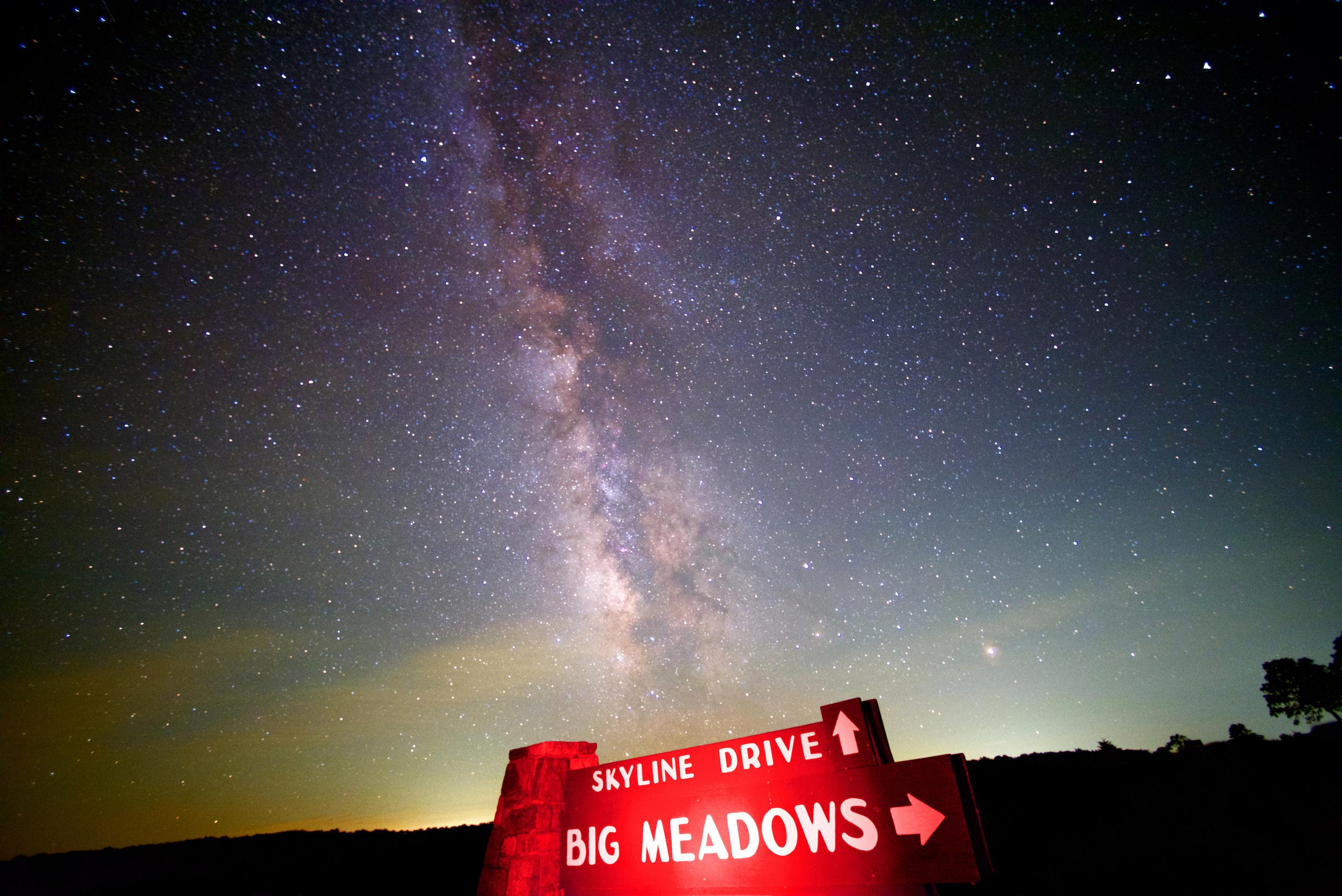 Night Sky - Shenandoah National Park (U S  National Park Service)