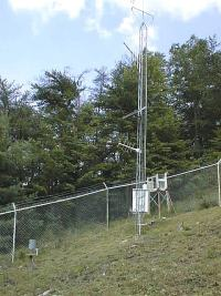 Weather station at Indian Grave Gap.