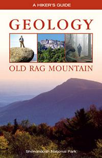 A Hiker's Guide to the Geology of Old Rag Mountain, by Paul Hackley - book cover.
