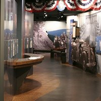 Byrd visitor center exhibit