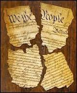 Image result for torn up constitution pics