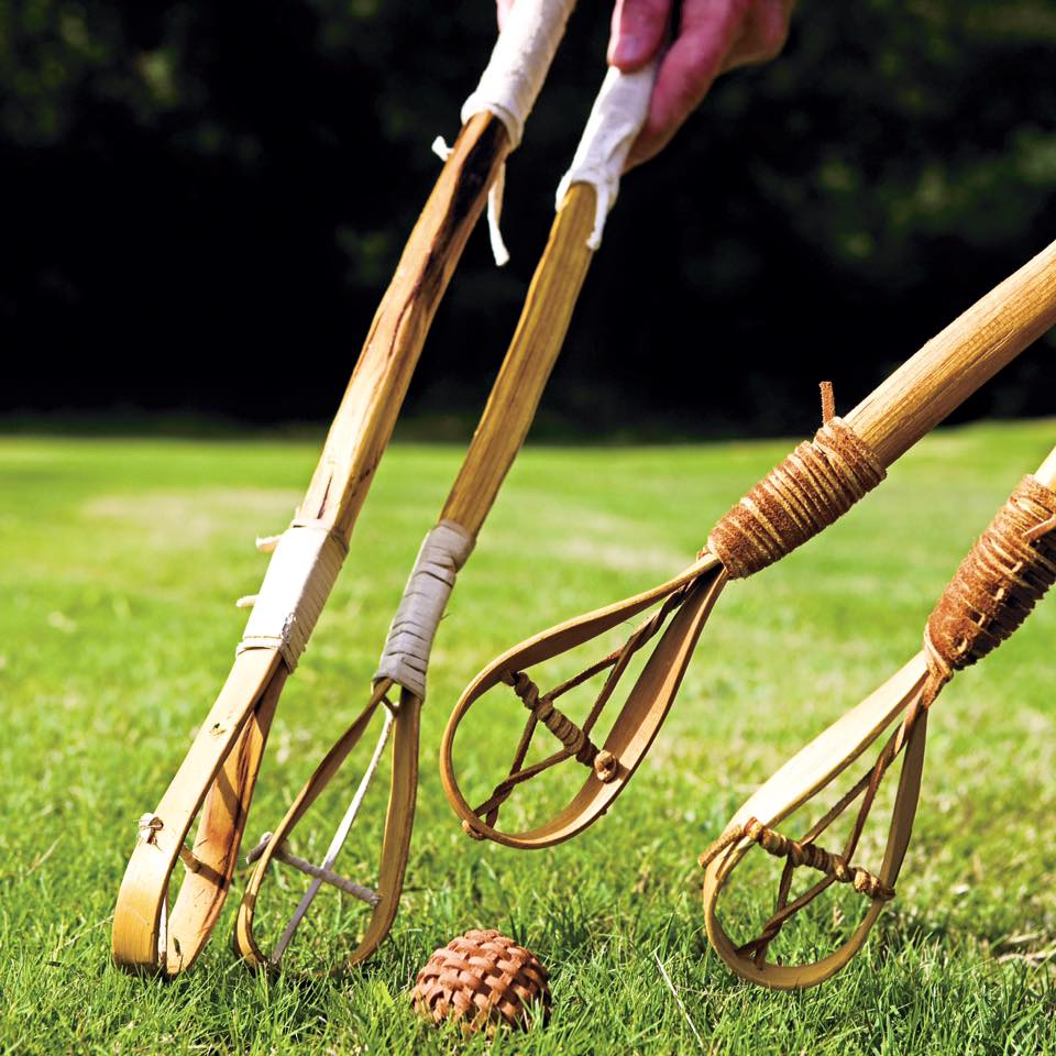 Image of stickball game