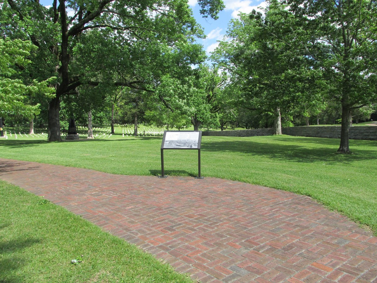 New Wayside Exhibit in National Cemetery