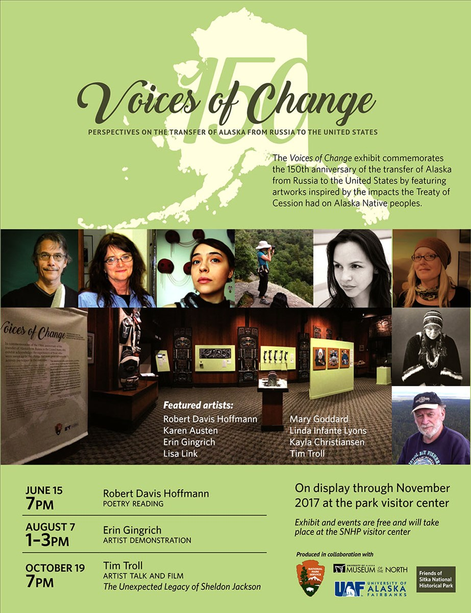 Voices of Change Events Promo Poster