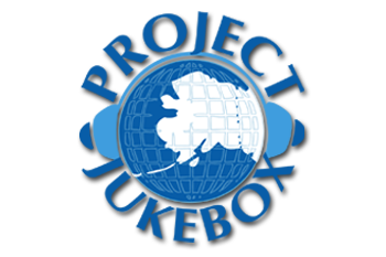 Logo for Project Jukebox, the digital branch of the Oral History Program at the University of Alaska Fairbanks.