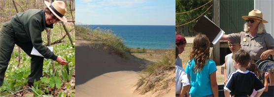 Sleeping Bear Dunes National Lakeshore Teacher-Ranger-Teacher Program.