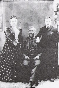 Julia, Robert, and Bertie Bancroft ca. 1890