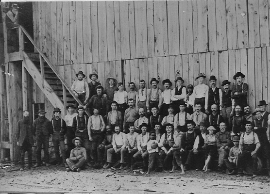 Edgewater Mill Workers