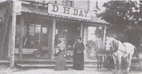 Glen Haven General Store in late 1800s.