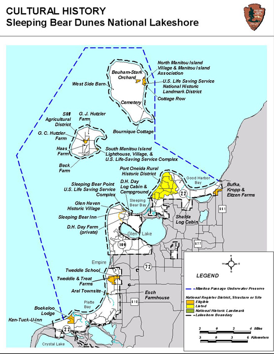 cultural resources sleeping bear dunes national