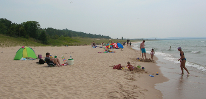 Glen Haven Beach