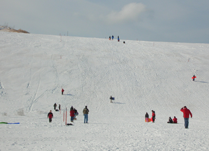 Park Fun Sleeping Bear Dunes National Lakeshore US National - The best sledding hills in north america