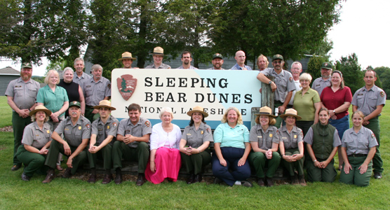 Sleeping Bear Dunes Staff