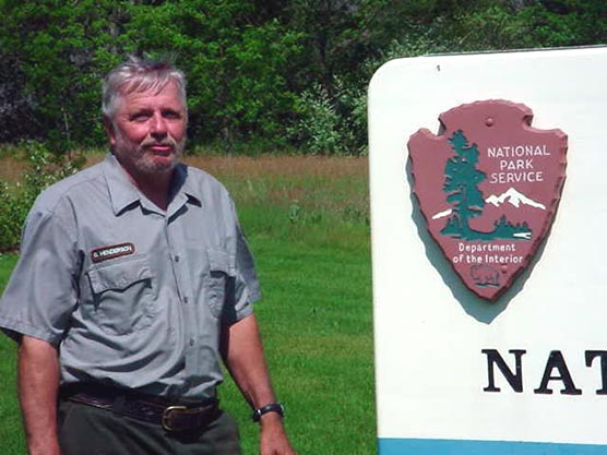 Mr. George Henderson, recipient of the 2007 National Park Service Director's Award in Natural Resource Stewardship through Maintenance.
