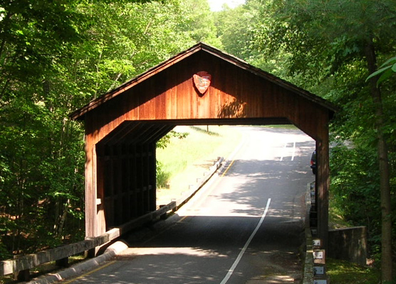 Covered Bridge on Pierce Stocking Drive