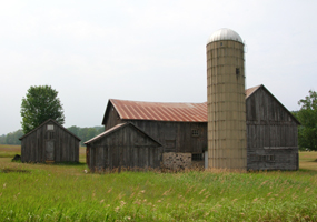 Dechow Barn and Silo