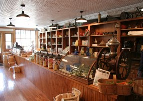 Inside the Glen Haven General Store