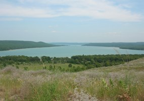 Glen Lake from Cottonwood Trail