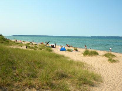 swimming beach activities sleeping bear dunes national. Black Bedroom Furniture Sets. Home Design Ideas