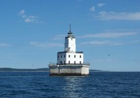North Manitou Island Lighthouse Crib